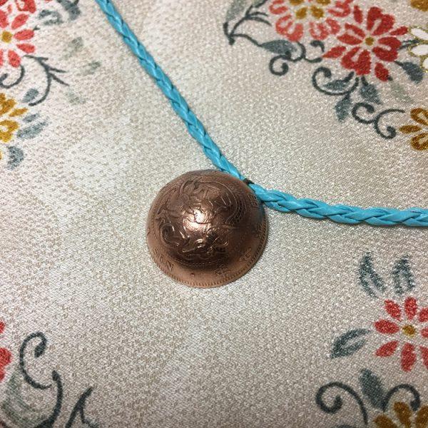 竜一銭銅貨ネックレスlb表